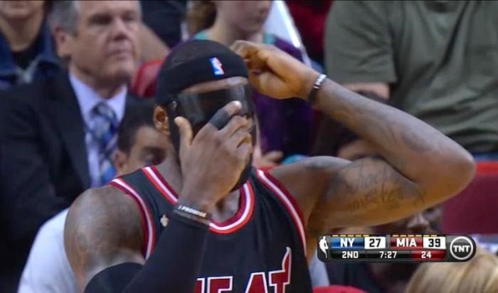 LeBron mask 2