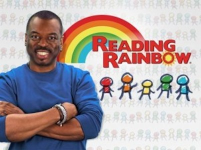 LeVar Burton Kickstarter Reading Rainbow