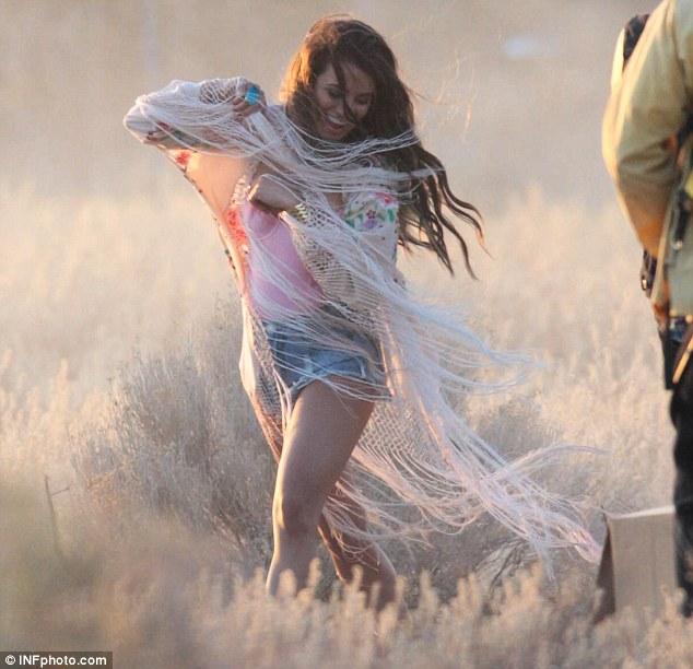 Lea Michele added wardrobe malfunction to her many talents