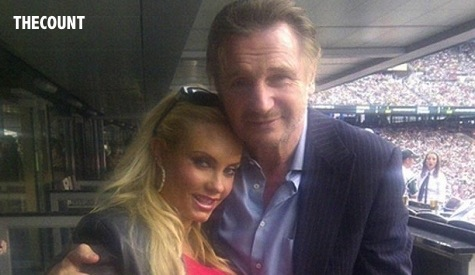 Liam Neeson Coco Austin1 COCO AUSTIN Pictured With 6 Different Guys And NONE Of Them ICE T