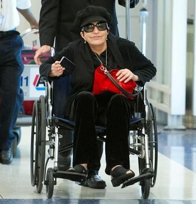 Liza Minnelli  rehab 4