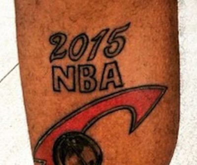 Lonynell Coleman Cleveland Cavaliers tattoo
