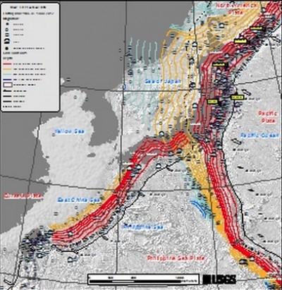 M 6.8 EARTHQUAKE STRIKES Near FUKUSHIMA JAPAN 2