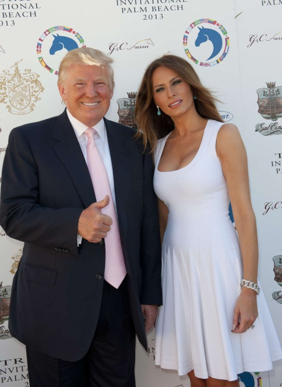 MELANIA TRUMP 04 560x770 The Woman Who Dare Wake Up Next To Donald Trump