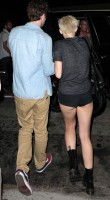 MILEY CYRUS Out with Liam Hemsworth