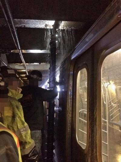 MTA Drill bit F train subway 2