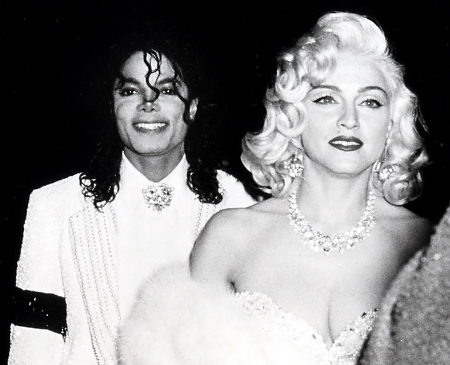 Michael with Madonna classic!