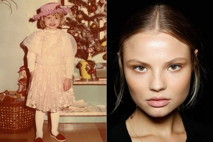 Magdalena Frackowiak TOP FASHION MODELS When They Were Young