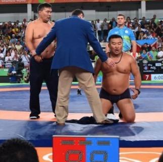 Mandakhnaran Ganzorig Mongolia Ikhtiyor Navruzov olympics