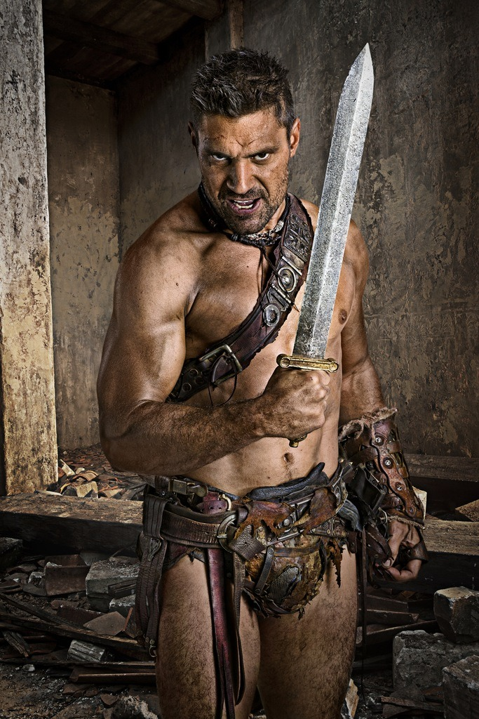 who played spartacus in the series