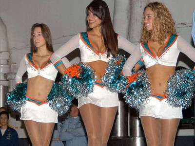 Marco Jeanette Rubio cheerleader miami dolphins