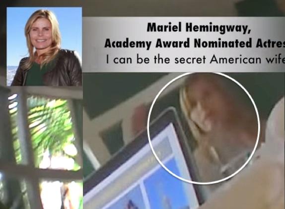 Mariel Hemingway Project Veritas secret wife