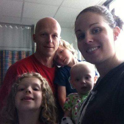 Mark and Megan Short children