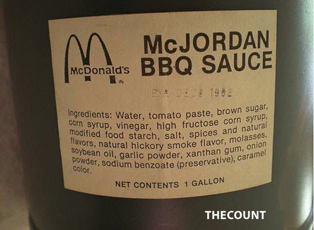 McJlabel Why Did Someone Pay Nearly $10,000 For A 1992 Jug Of BBQ Sauce?