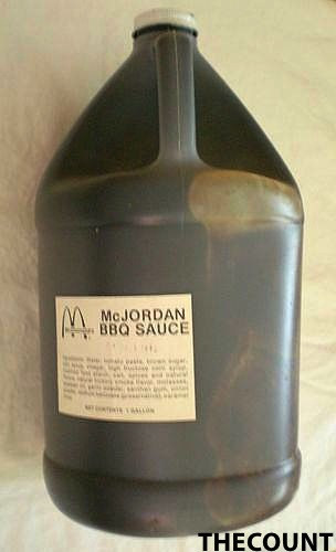 McJordan BBQ Sauce Why Did Someone Pay Nearly $10,000 For A 1992 Jug Of BBQ Sauce?