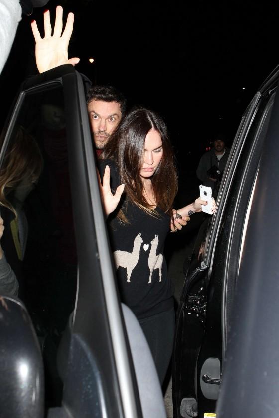 Megan Fox - leaves a Restaurant in West Hollywood-17-560x840