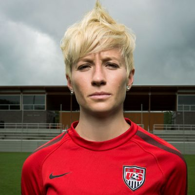 Megan Rapinoe kneels National Anthem