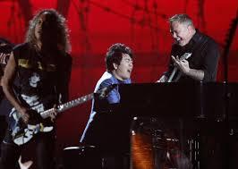 Metallica piano grammy