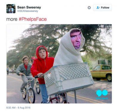 Michael Phelps death stare memes 9