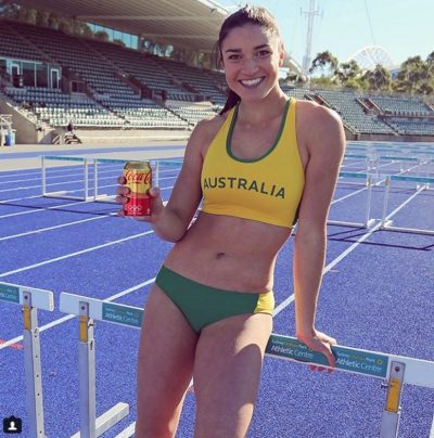Michelle Jenneke rio olympics dance