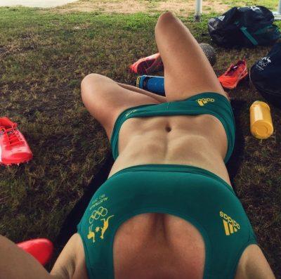 Michelle Jenneke rio olympics selfie