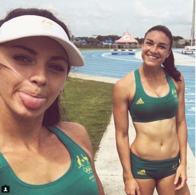 Michelle Jenneke rio olympics teammate