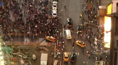 Mike Brown Protesters SHUT DOWN TIMES SQUARE 3