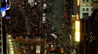 Mike Brown Protesters SHUT DOWN TIMES SQUARE