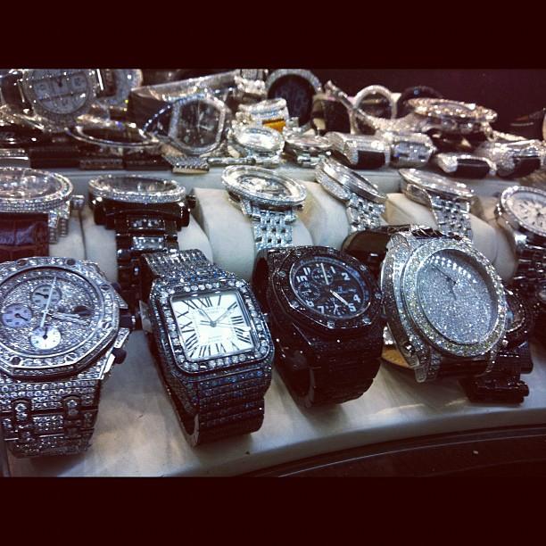 Million Dollar watches