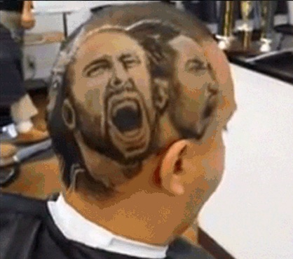 NBA haircut