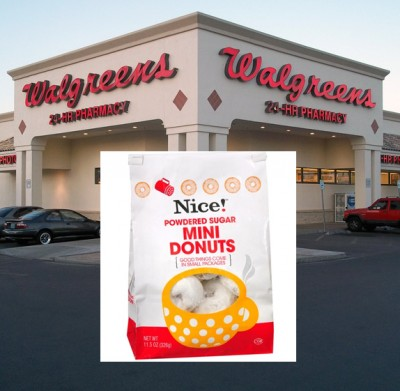 NICE! Walgreens Mini Donuts RECALL