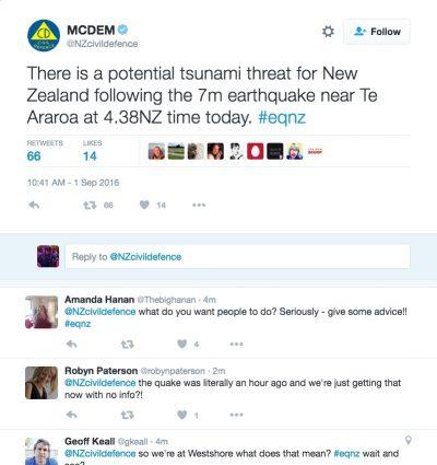 NZcivildefence tsunami