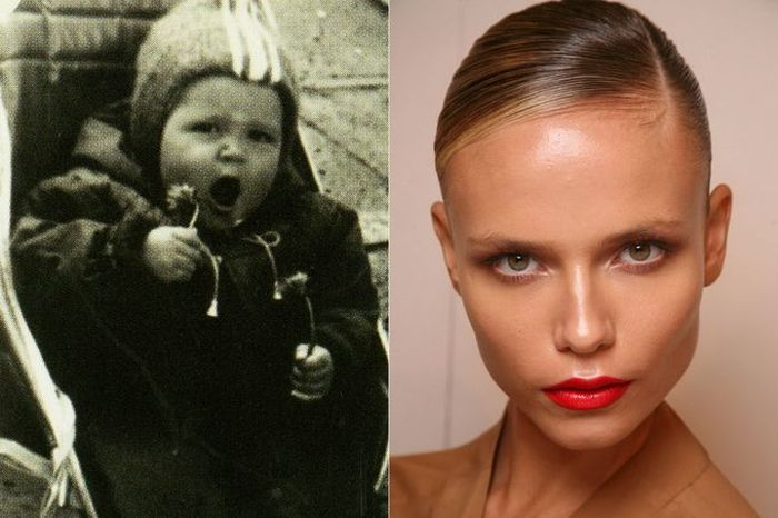 Natasha Poly TOP FASHION MODELS When They Were Young