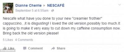 Nescafe strong cappuccino fail 3