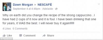 Nescafe strong cappuccino fail 4
