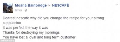 Nescafe strong cappuccino fail 5