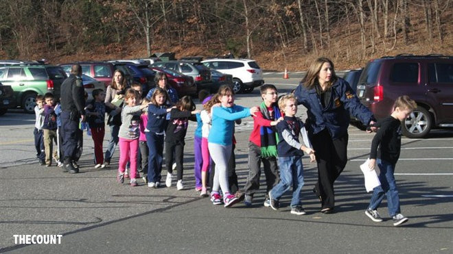 NewTownShooting3 American Schools Employ Panic Button