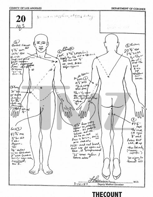 Notorious B I G Autopsy Report Leaked 15 Years After Death Thecount Com
