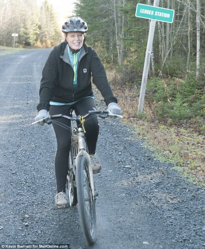 Nurse Kaci Hickox bike ride