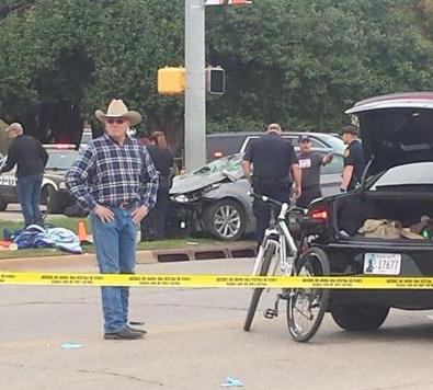 OSU Homecoming Parade accident scene 2