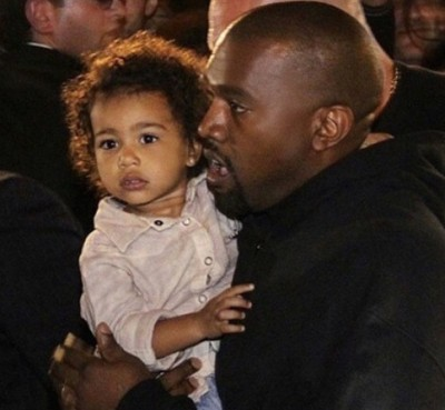 Olivier Rousteing north west kanye