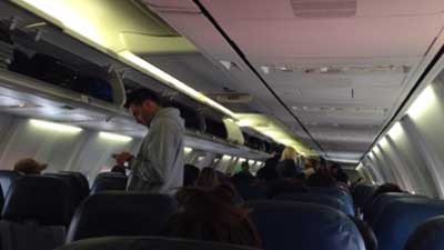 PLANE QUARANTINED IN LAS VEGAS OVER EBOLA