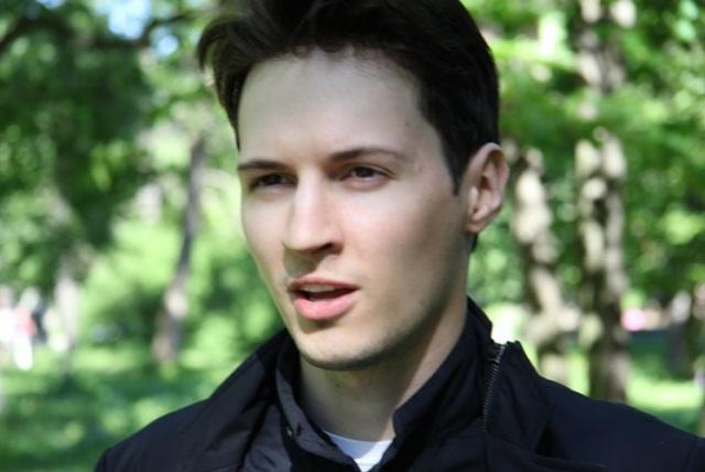Pavel Durov vk com