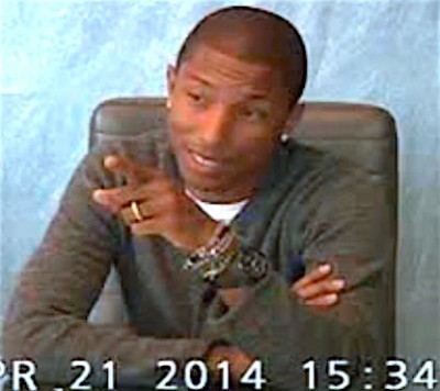 Pharrell Williams deposition blurred lines 4