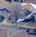 Plane CRASHES Into Houses Chicago 2 155x160 Plane CRASHES Into Houses In Chicago