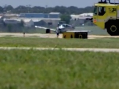 Plane With Landing Gear Trouble, San Antonio 4