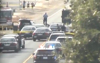 Police Standoff Stockton CA