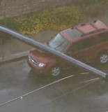 Power Poles Come Down On Cars In Phoenix 1 155x160 String Of Power Poles Come Down On Cars In Phoenix, AZ Area Flooding
