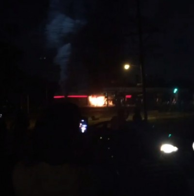 QuikTrip building fire mike brown