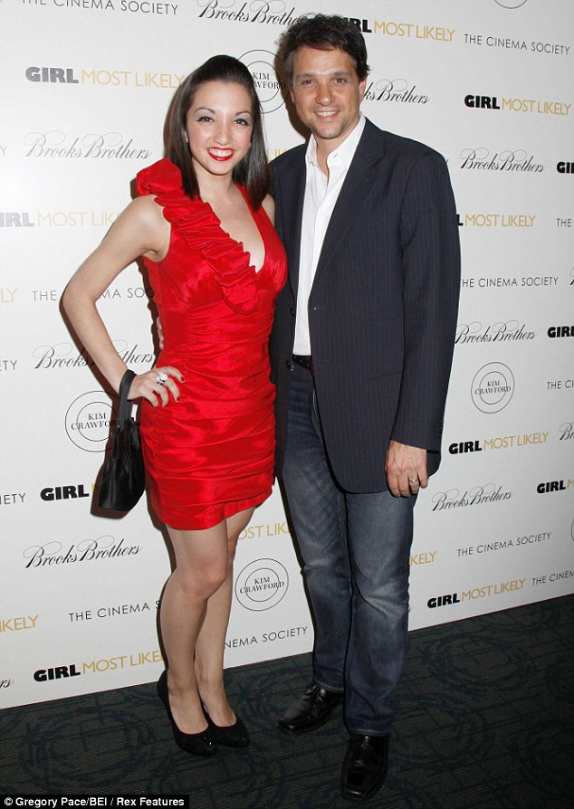 Ralph Macchio and daughter Julia 1